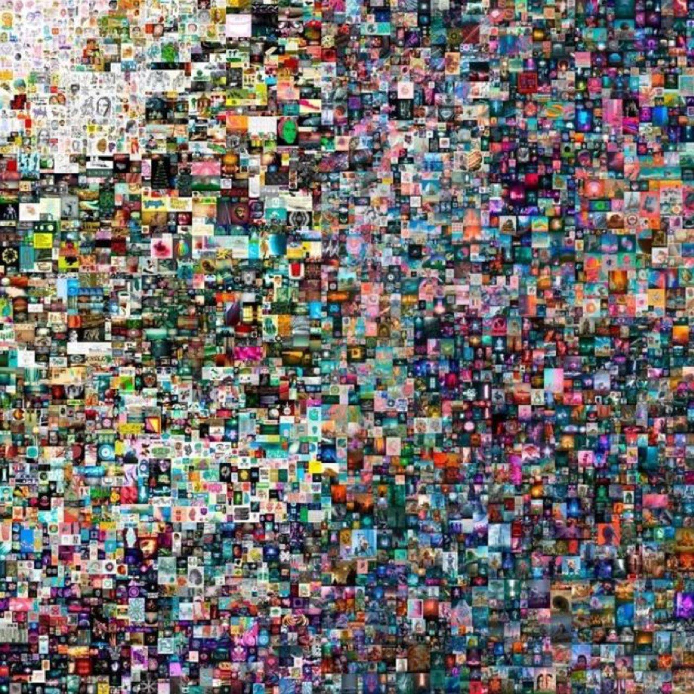 数字艺术家Beeple的NFT数字艺术品《每一天:前5000天》