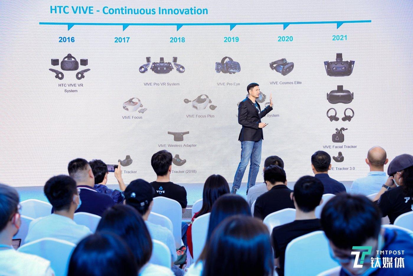 HTC VR产品发展路线