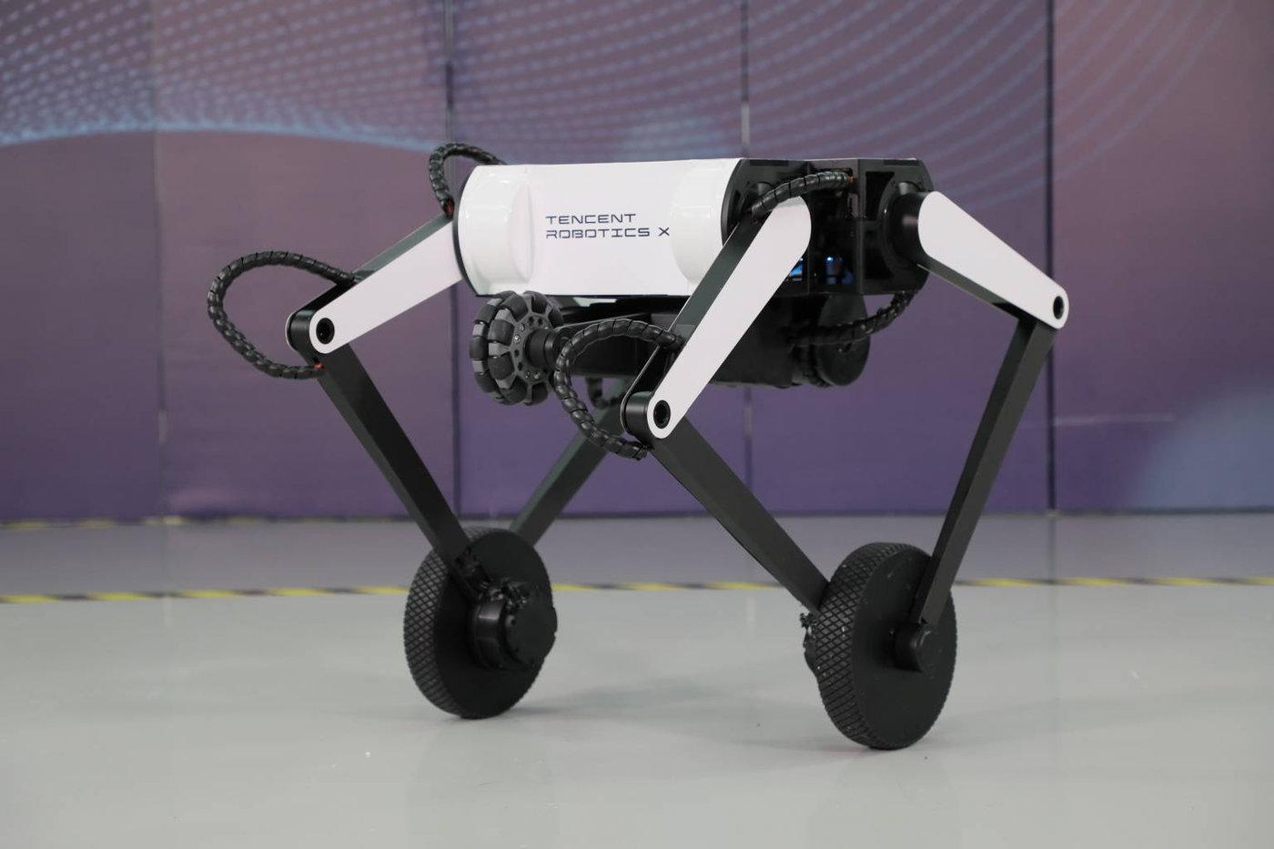 腾讯全新轮腿式机器人Ollie(图片来源:腾讯)