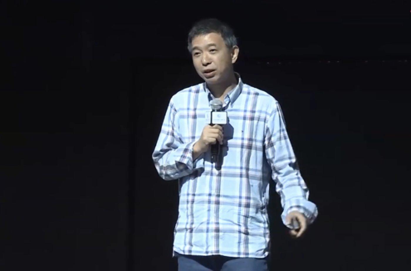 王坚(云栖大会的视频截图)