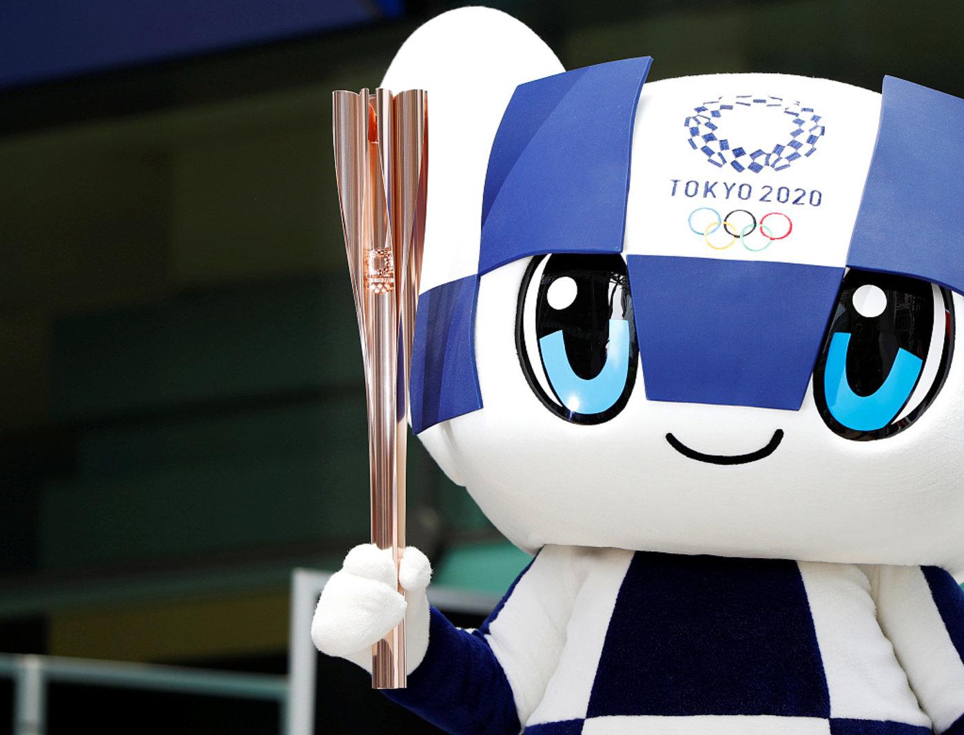东京奥运会吉祥物之一,图片来源@视觉中国