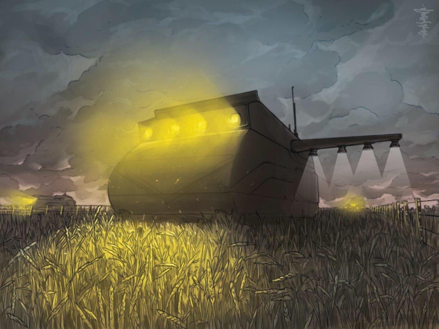 图 | 农业机器人带来的生态反乌托邦(来源:论文)