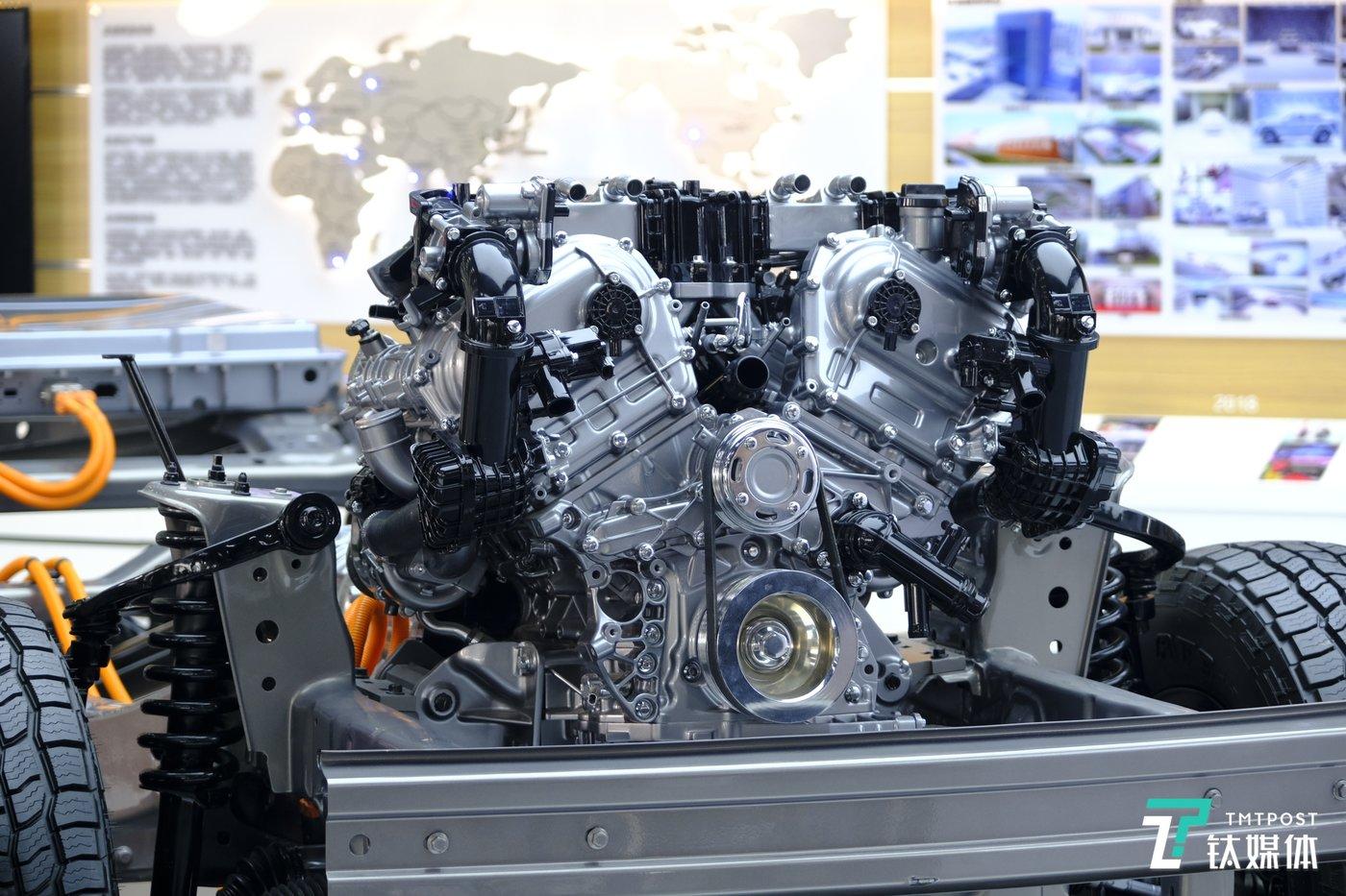 长城汽车6Z30 3.0T发动机