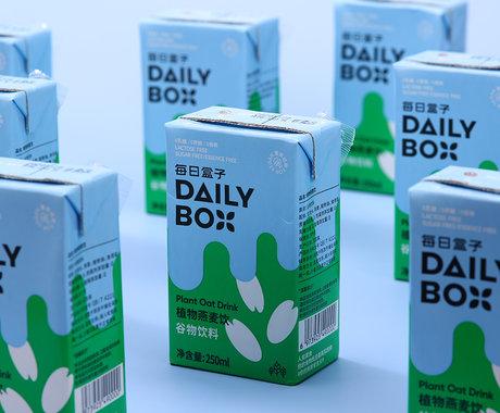 """每日盒子:做""""年轻人的露露"""",从燕麦奶走入早餐开始"""