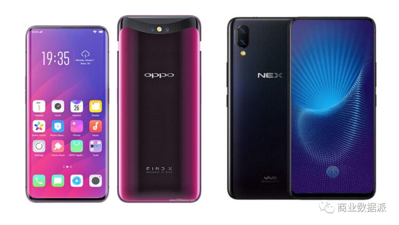 (OPPO、vivo采用弹出式设计实现了手机全面屏)