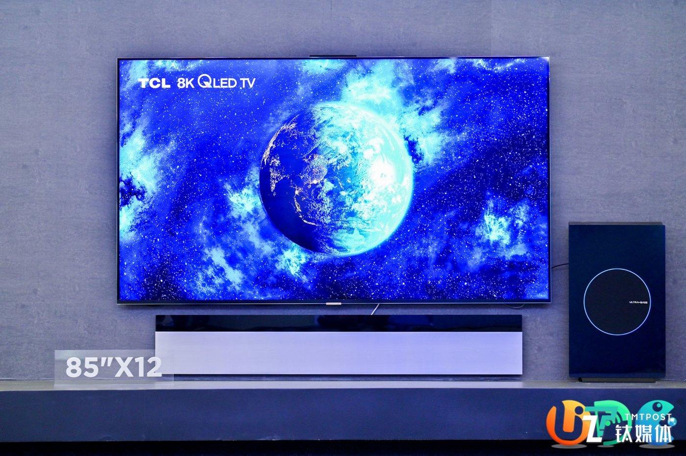应用Mini LED并拥有8K分辨率的X12产品