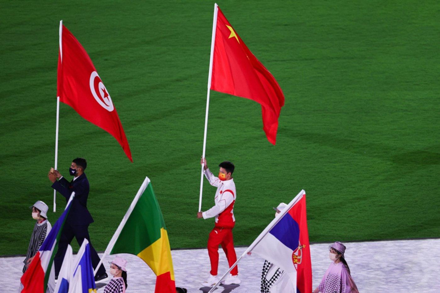 中国运动员苏炳添,图片来源@视觉中国