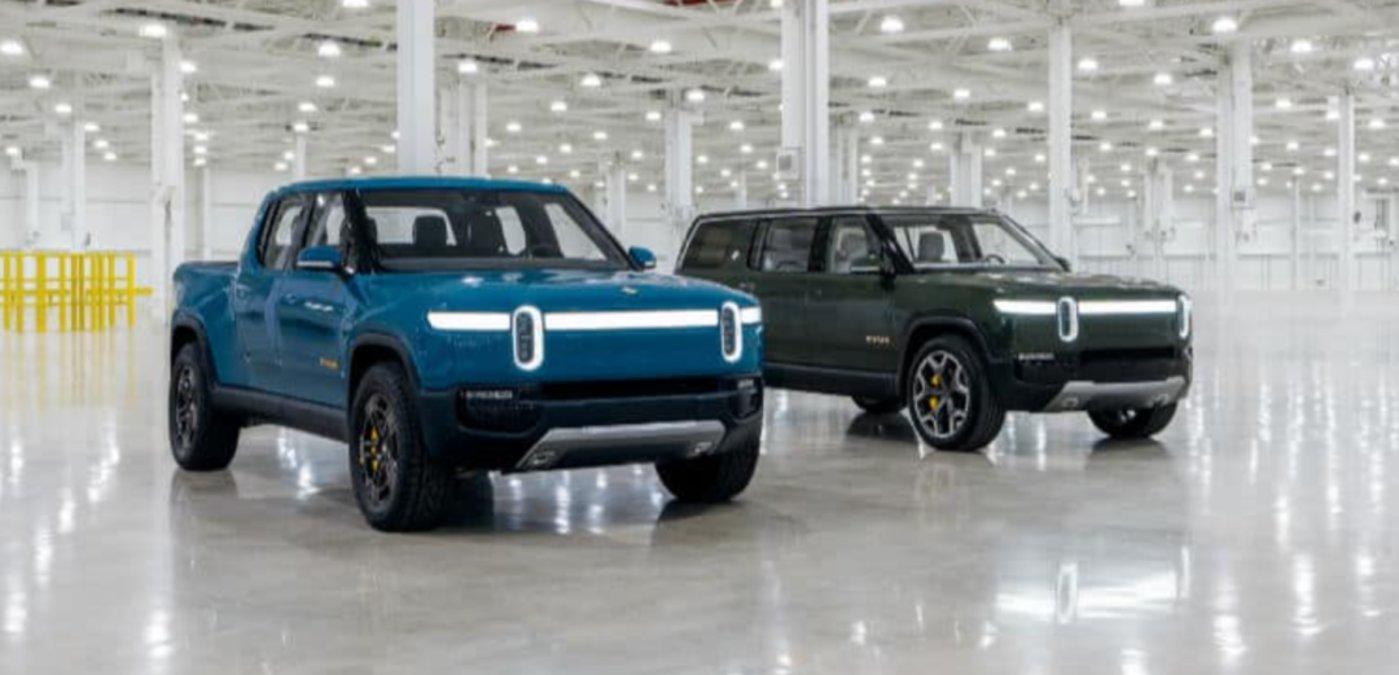 Rivian旗下的两款车型R1T和R1S(图片来源Rivian官网)