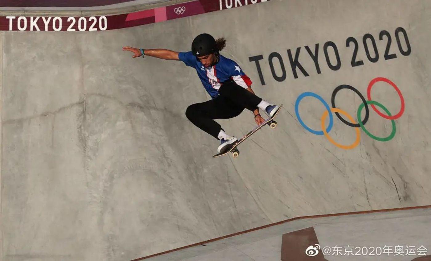 图片来源@东京2020年奥运会微博