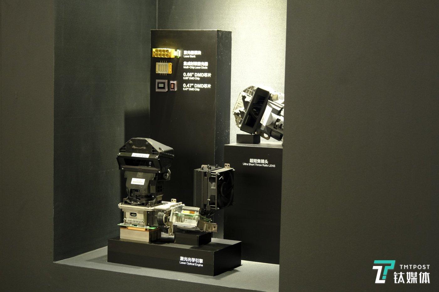 海信完成自研、自产的激光显示元器件