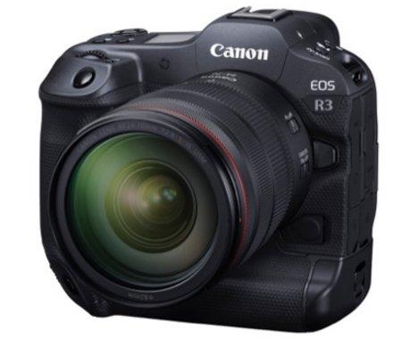 无反领域的性能怪兽,佳能发布全画幅专微相机EOSR3 | 钛快讯