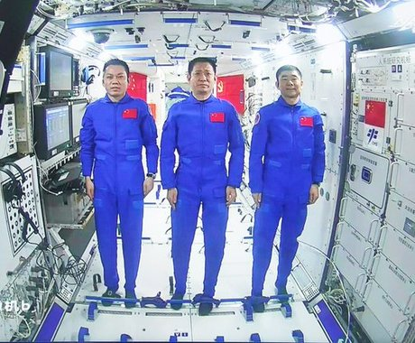 Musk Congratulates Chinese Astronauts' 90-Day Space Mission Completed
