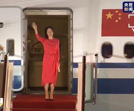 孟晚舟回国,与华为1028天的波折