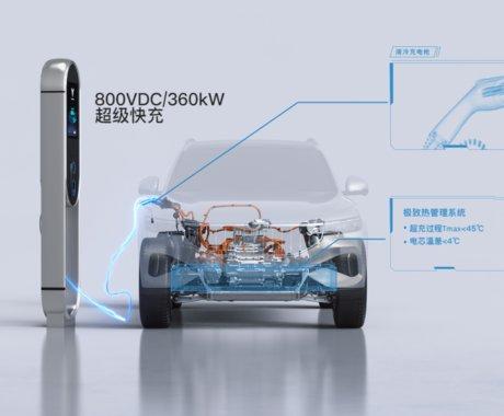 岚图发布800V高电压平台及超级快充技术