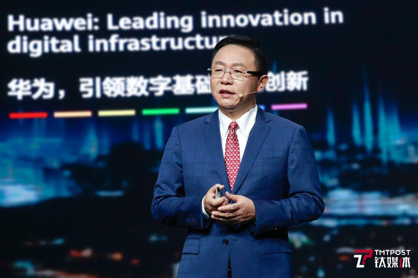 华为常务董事、ICT产品与解决方案总裁汪涛