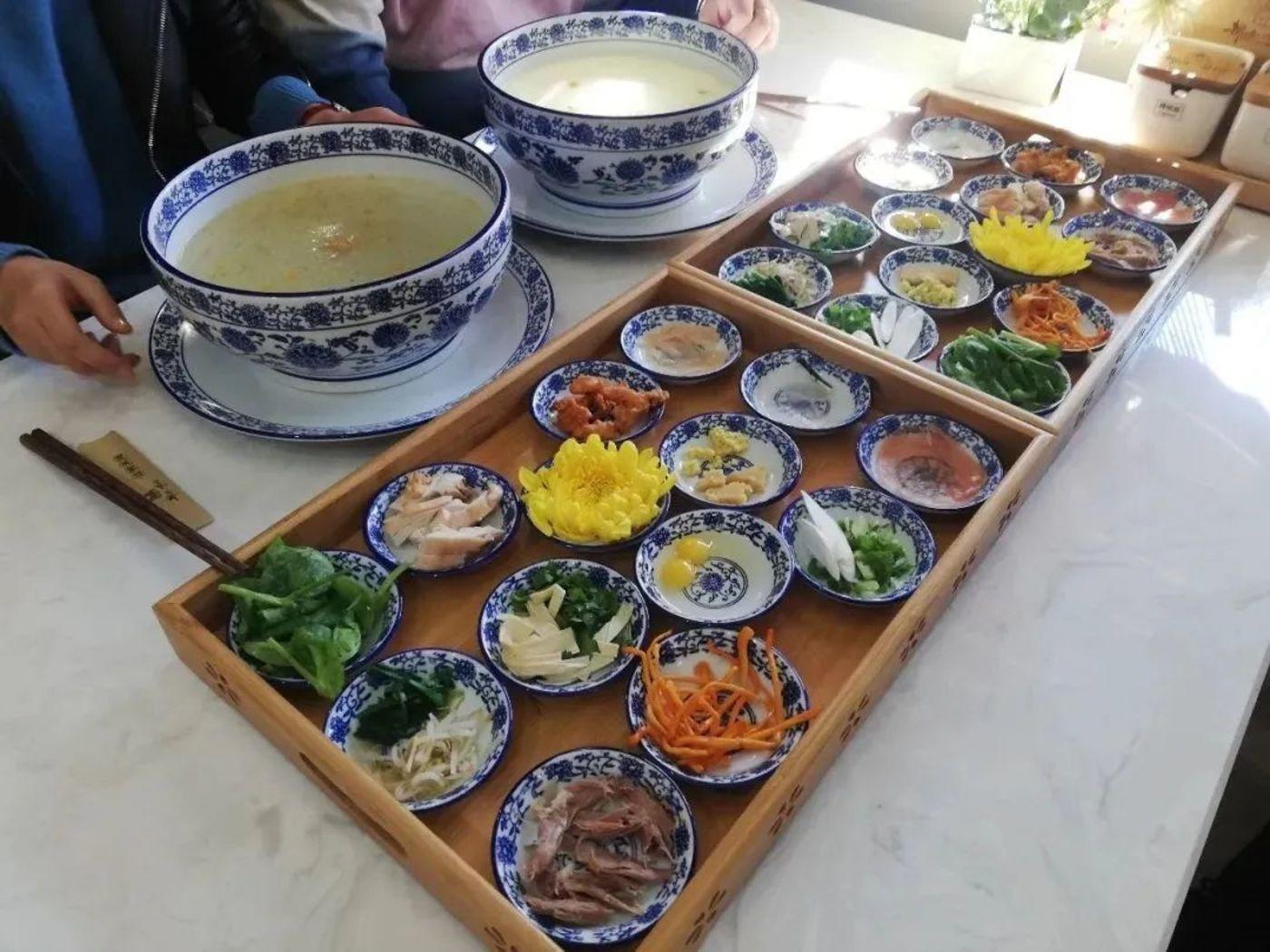 低配18元以内的云南米线套餐,图片来源:锡都个旧公众号