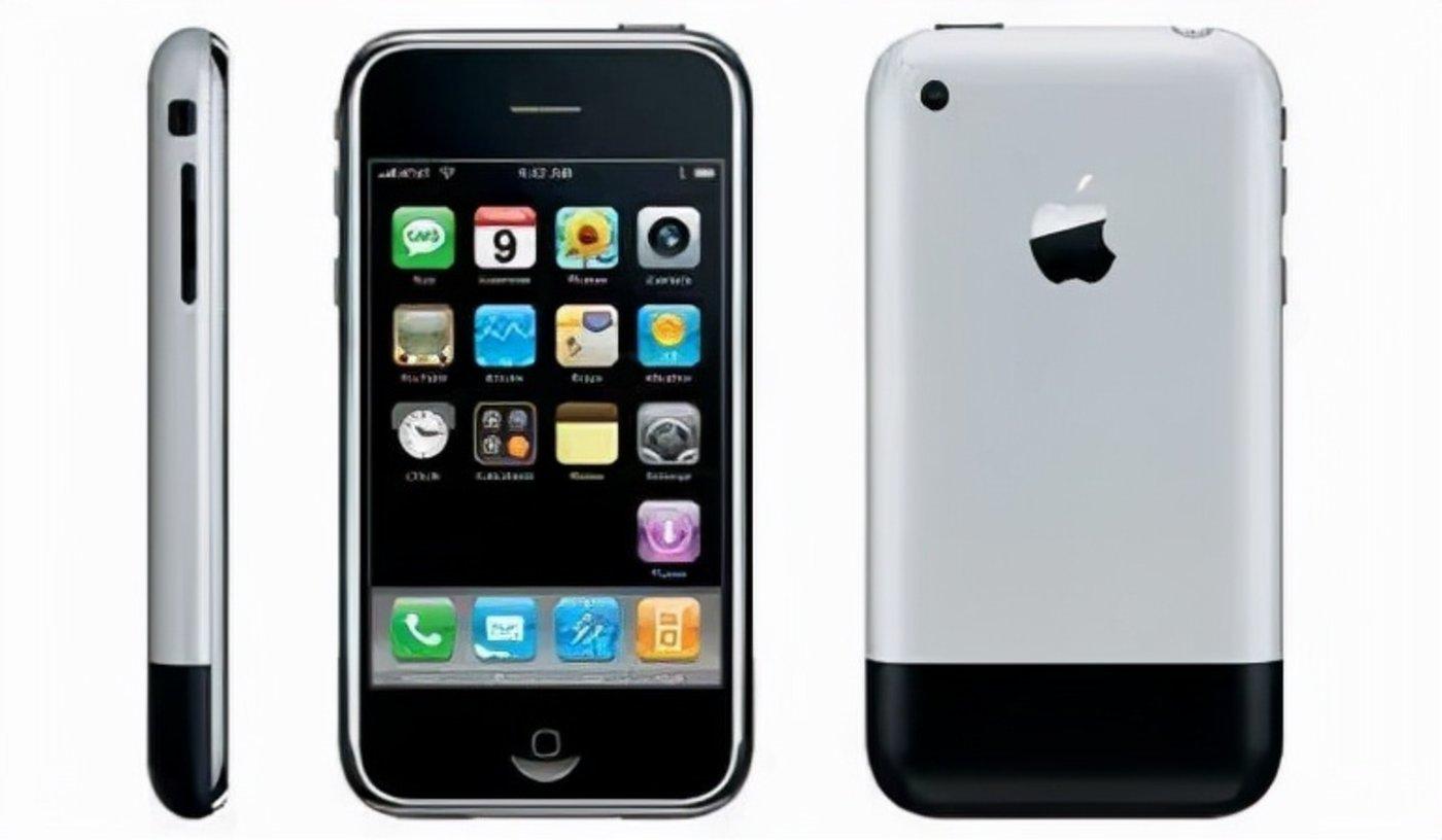 最终发布的第一款iPhone外观图