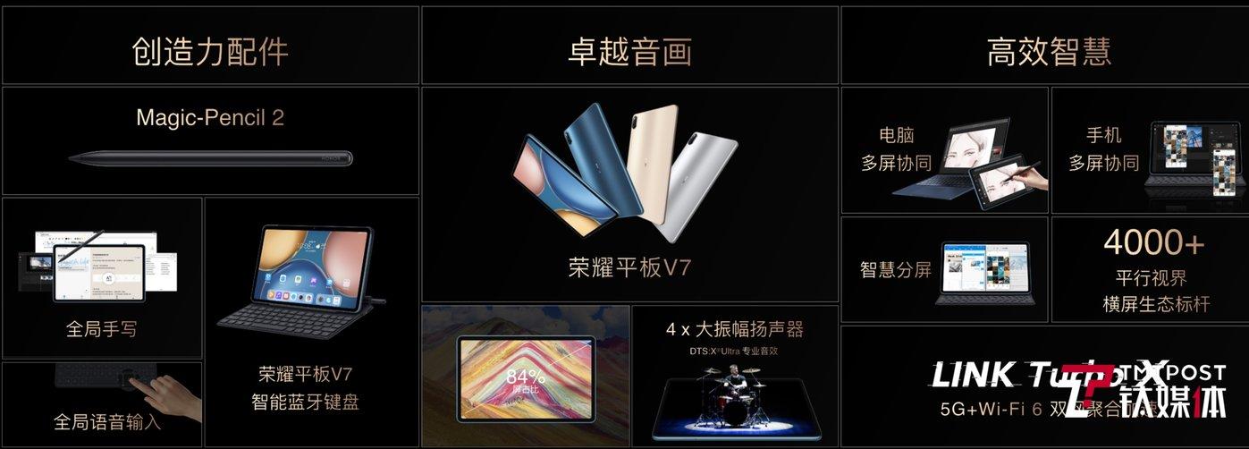 荣耀平板V7