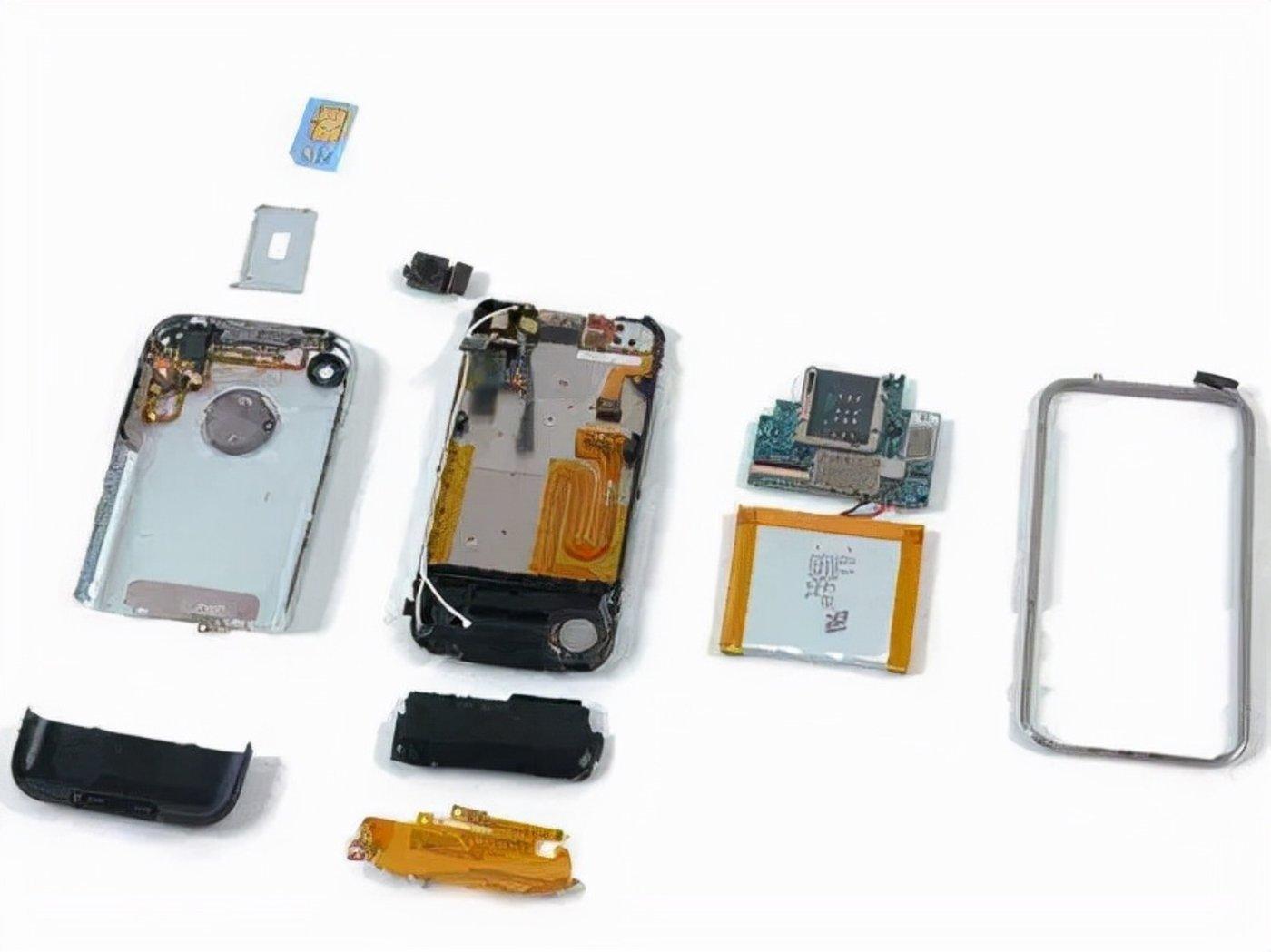 初代iPhone内部图