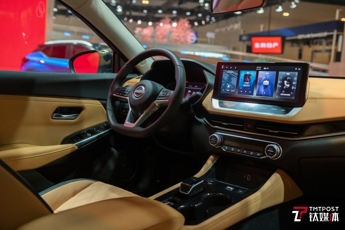 e-POWER中国首款车型内饰
