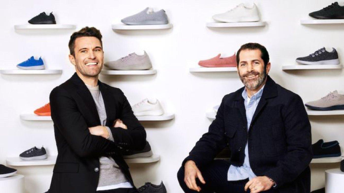 Allbirds的创始人 Tim Brown(左) 和 Joey Zwillinger(右)