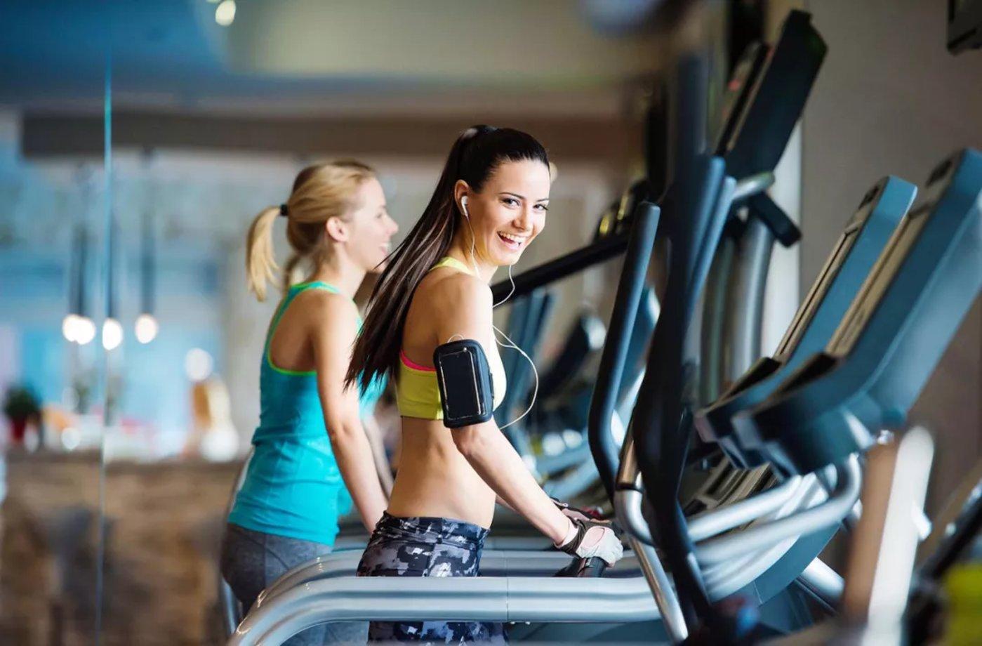 女性客户是健身房的消费主体 图片来源:Alamy Stock Photo