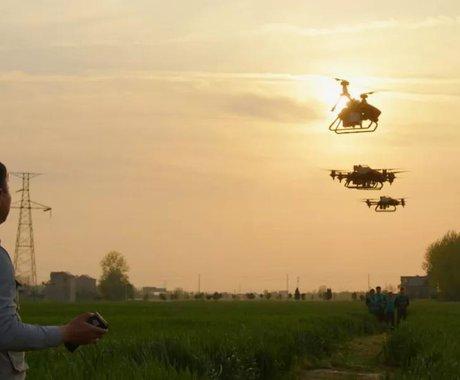 无人机飞防,新农人的新战场