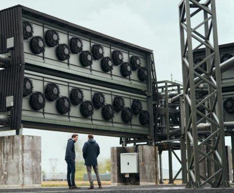 """揭秘全球最大""""空中吸碳""""工厂:已运行1个月,每年把4000吨CO2变成石头"""