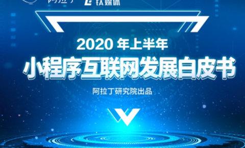 2020年上半年小程序互联网发展报告