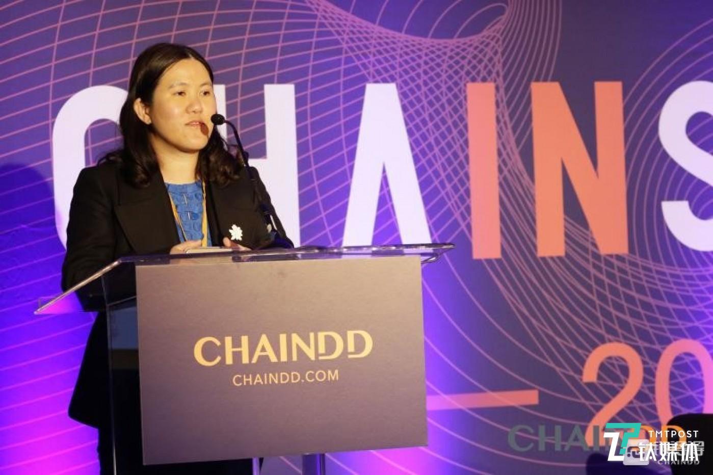 ChainDD 美国创始合伙人Catherine Li