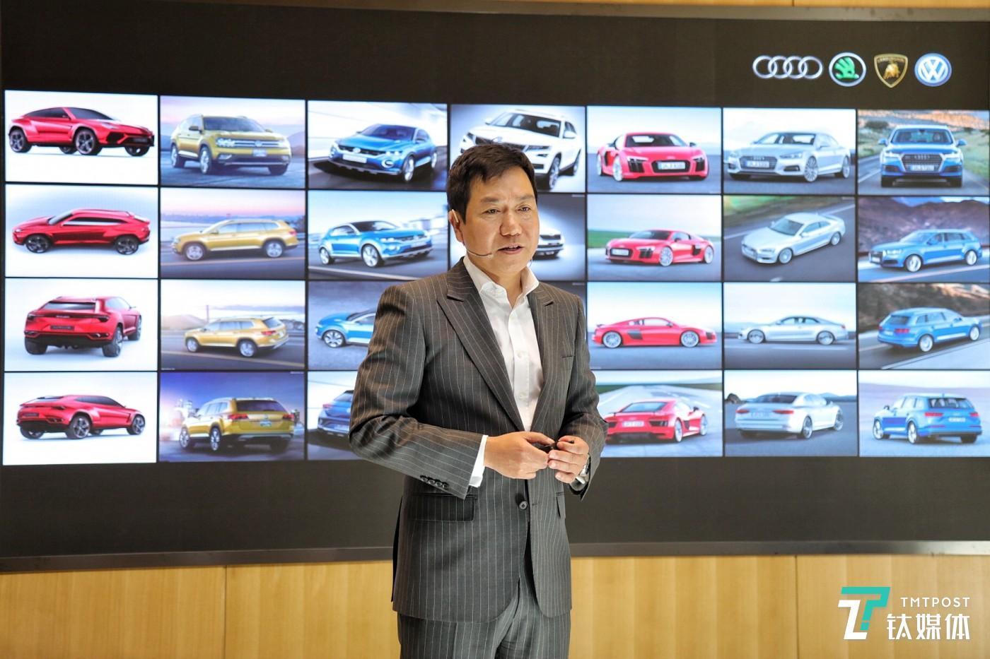 李相烨曾服务于16个不同的汽车品牌