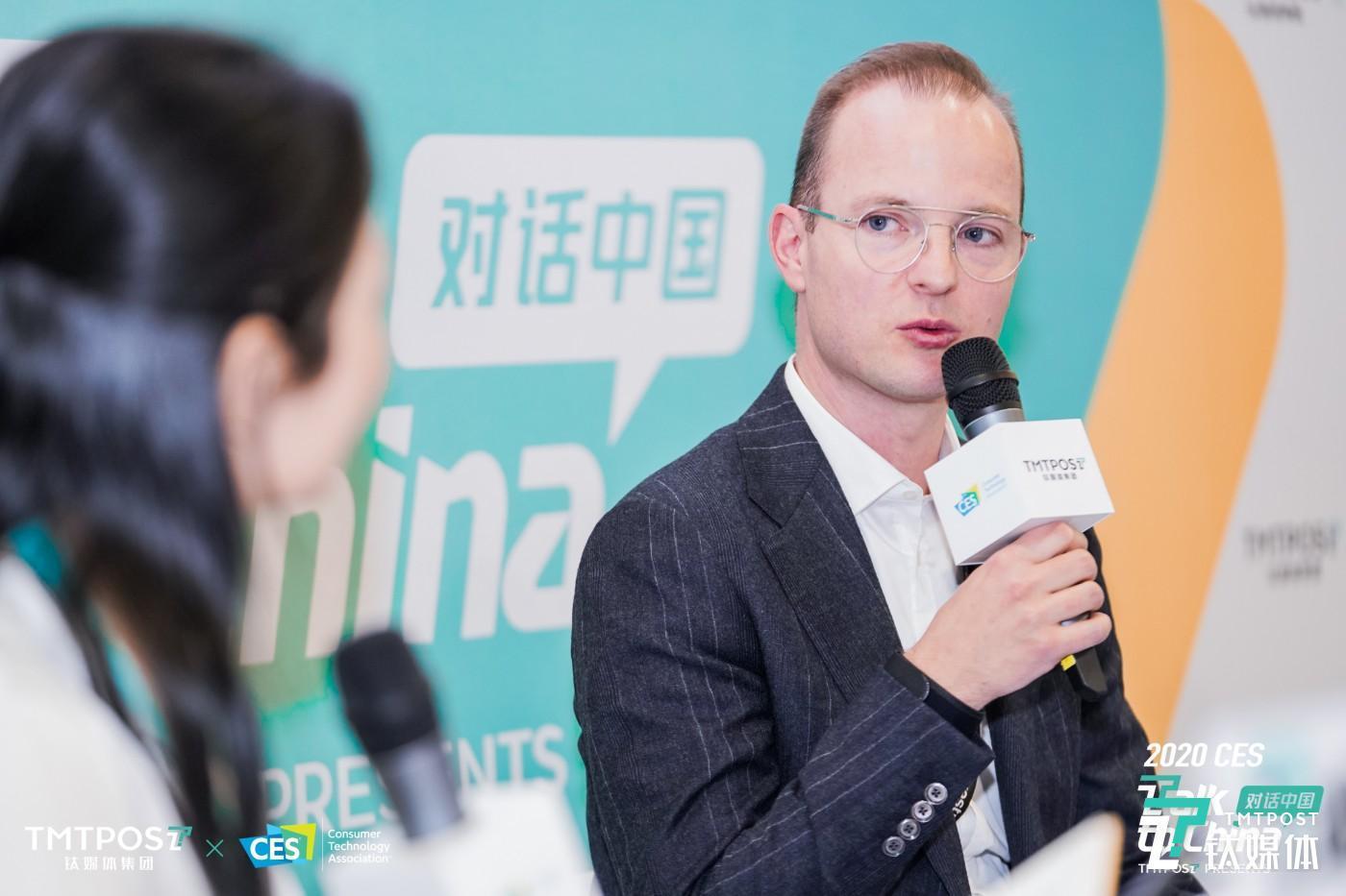 科思创聚碳酸酯业务部全球电子电气及家电市场营销副总裁  Andreas Brandt