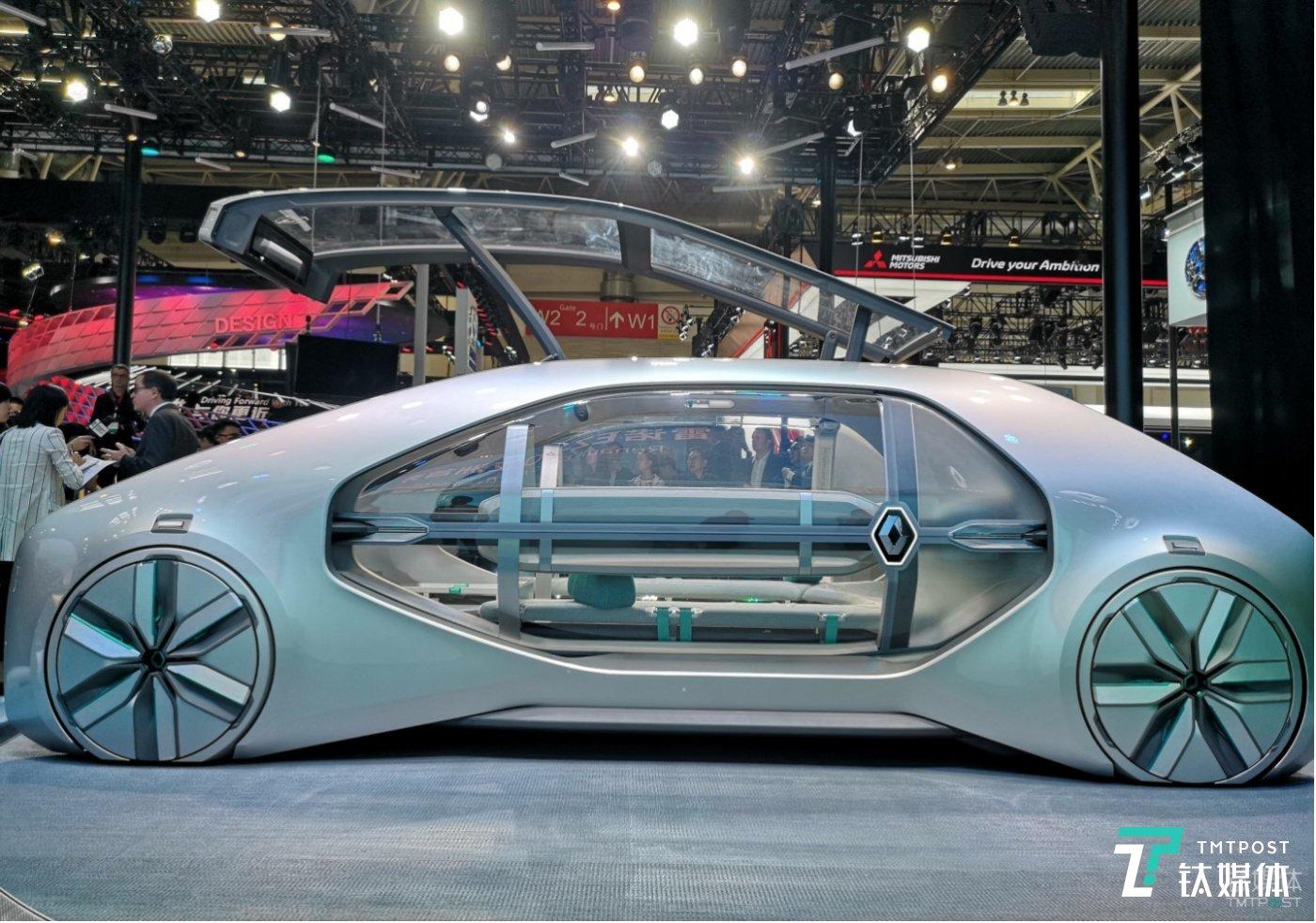 雷诺电动概念车 EZ-GO北京车展亚洲首秀