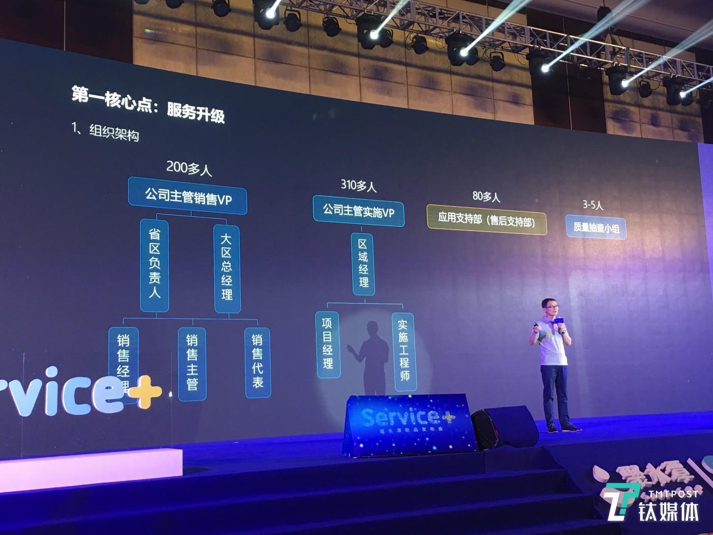 """4月上旬,聚水潭宣布升级公司的服务体系""""Service+""""。"""