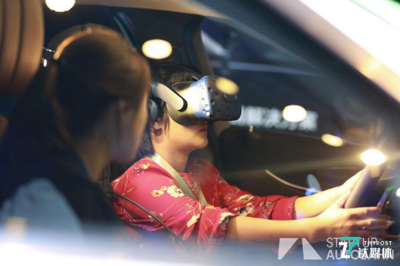 51VR,虚拟现实技术体验驾驶功能。