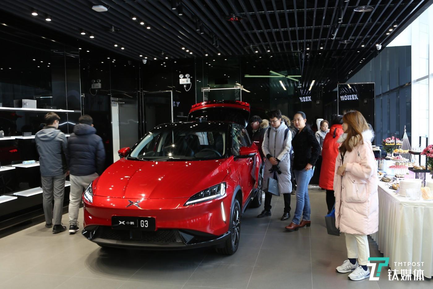 小鹏汽车北京体验店开业