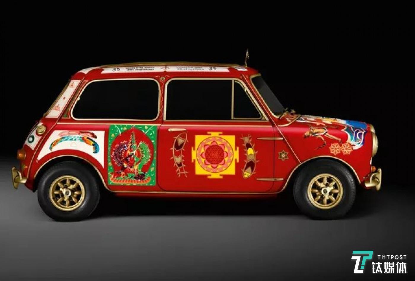 John Lennon设计的MINI