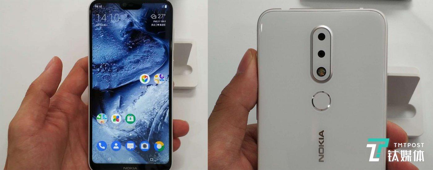 Nokia X6 白色版