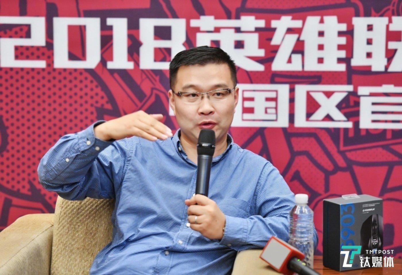 罗技全球副总裁,大中华区董事总经理蒋志兴