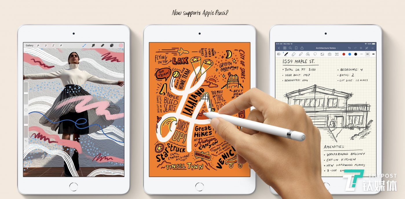 Now new iPads Support Apple Pencil