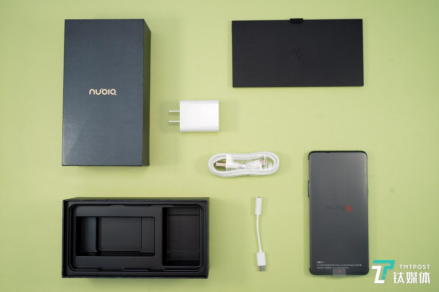 努比亚X全部配件