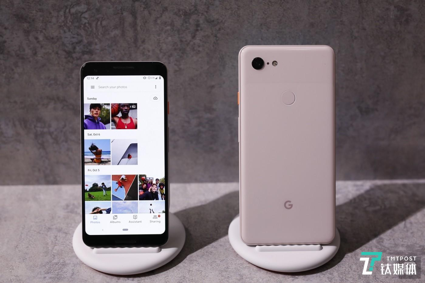 Pixel 3 Not Pink Photo via Engadget