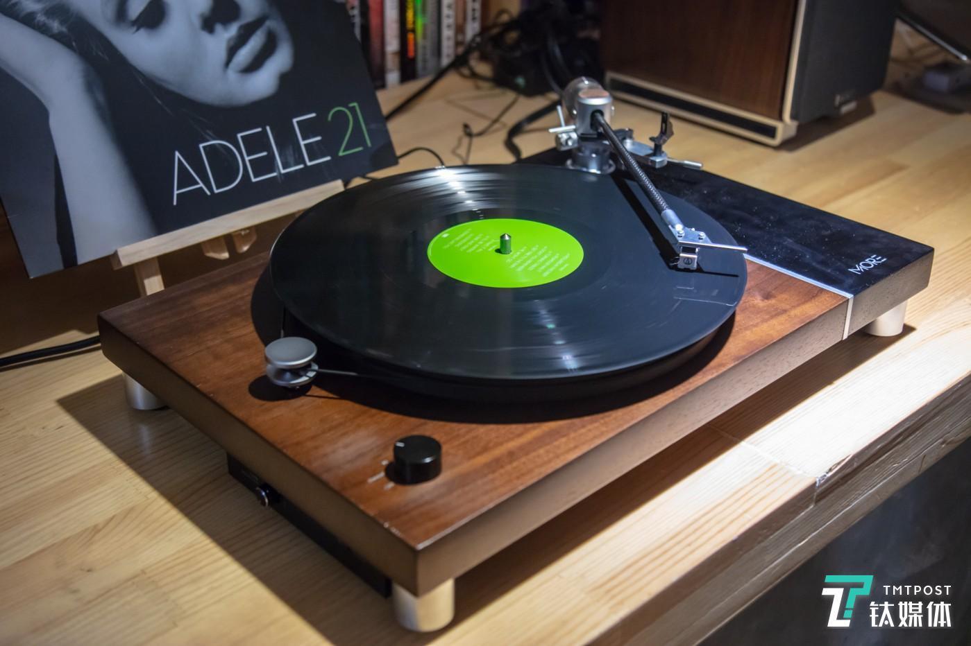 茉莉花Jasmine MORE黑胶唱机