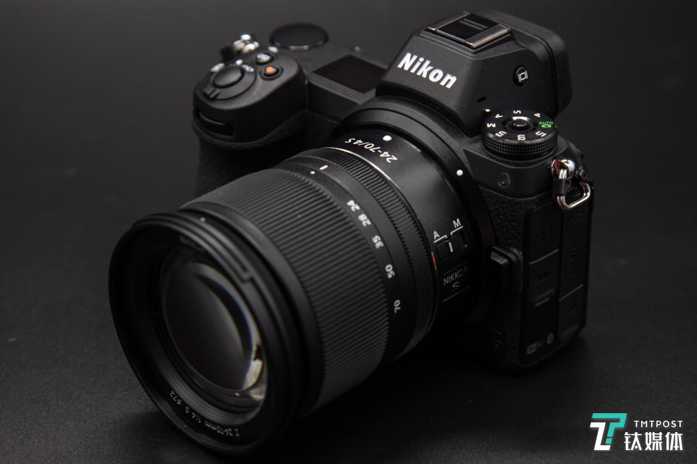 尼康Z7 + Z 24-70mm镜头