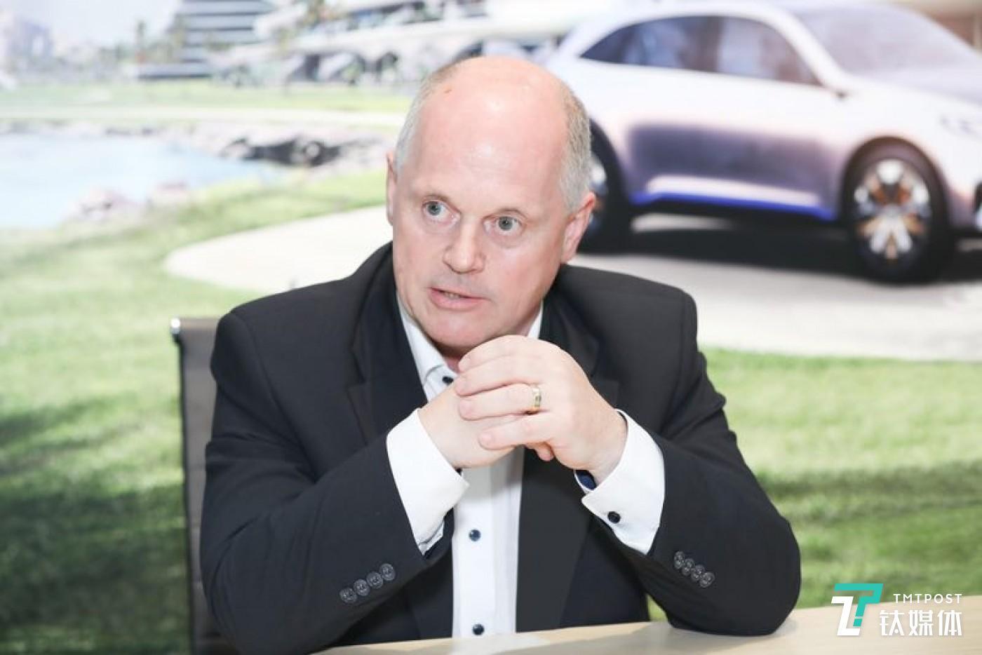 奔驰乘用车中国研发中心负责人安尔翰教授