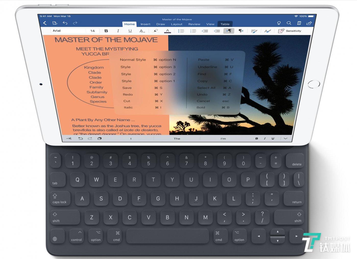 iPad Pro with SmartKeyboard Gen1