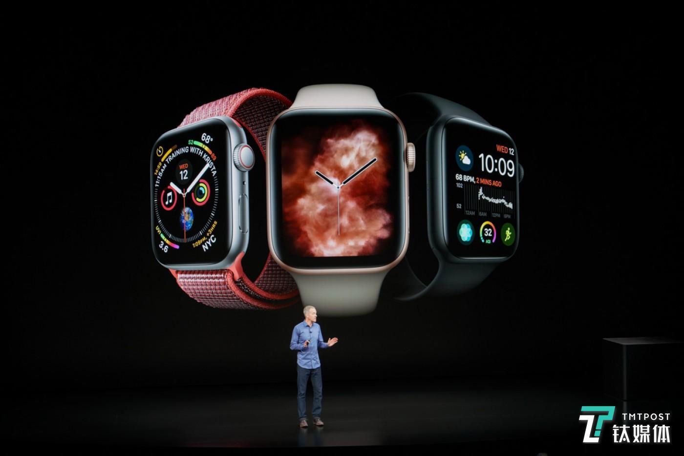 苹果发布Apple Watch Series 4