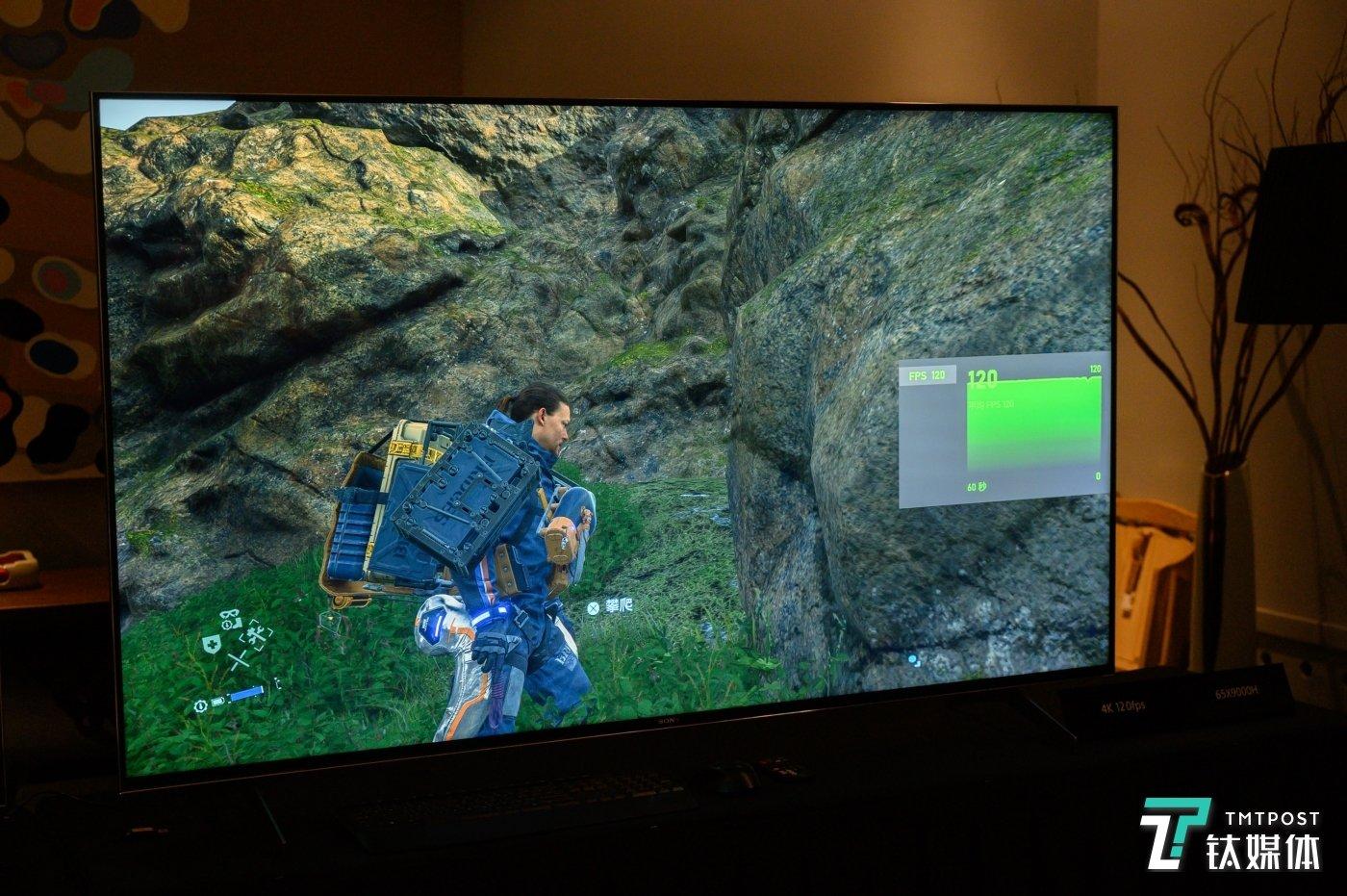 4K/120FPS的《死亡搁浅》游戏画面