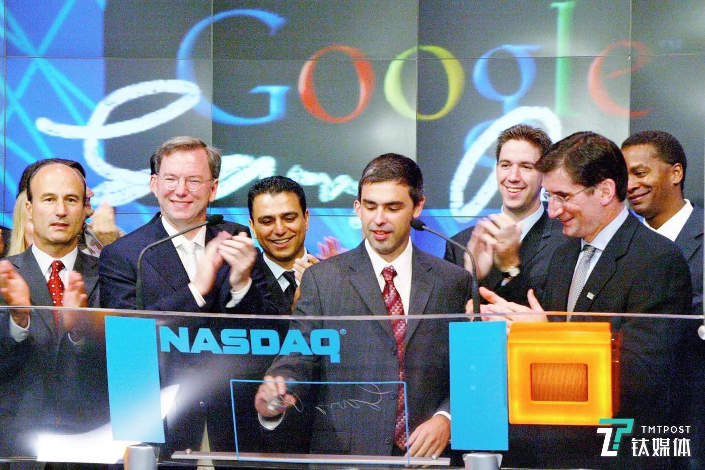 12月4日,谷歌创始人、谷歌母公司Alphabet首席执行官拉里· 佩奇宣布将辞去CEO一职,该职位将由现任谷歌首席执行官皮查伊接任。(图/Getty Images)