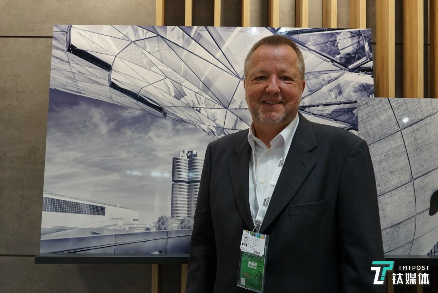 宝马人工智能高级副总裁 Reinhard Stolle